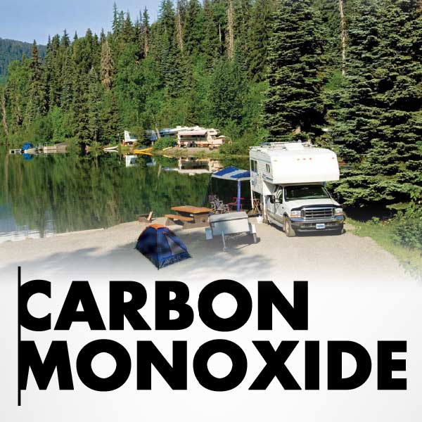 Campground Carbon Monoxide Poster