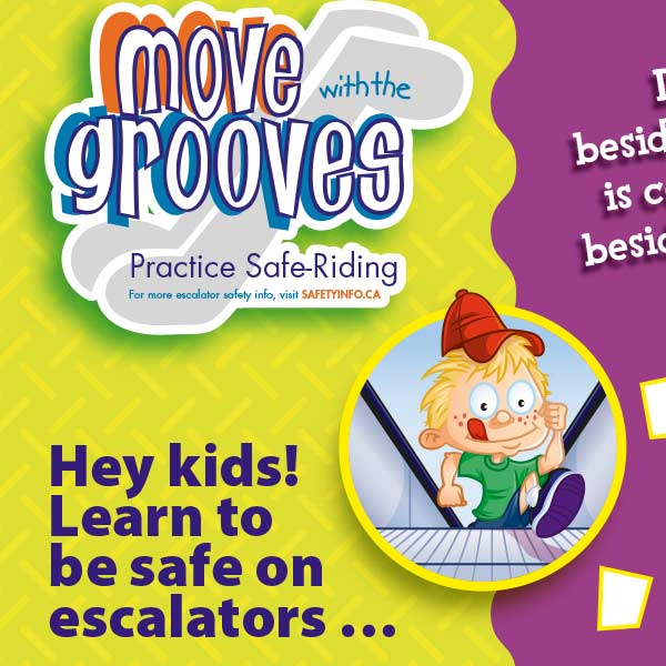 Move with the Grooves Escalator sheet